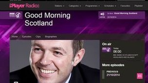 BBC Scotland's Good Morning Scotland programme