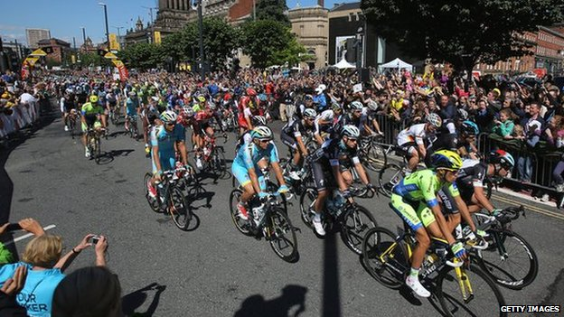 Tour de France in Leeds