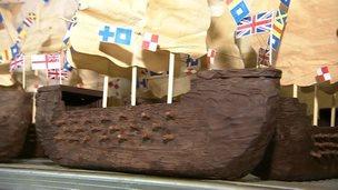 Chocolate ships
