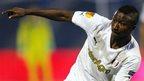 Astra striker Kehinde Fatai