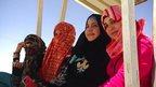 Photo from the Za'atari refugee camp, Jordan