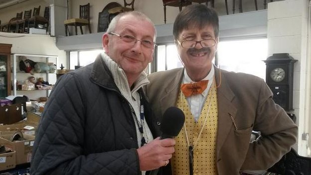 Andy Potter and Tim Wonnacott