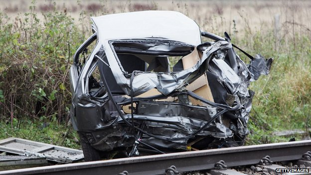 Brian drysdale s car was parked on the ufton nervet level crossing