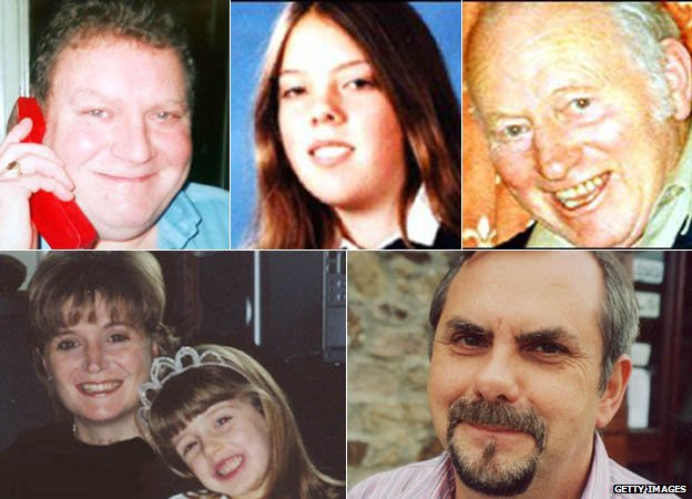 Left to right: Train driver Stanley Smith, Emily Webster, Charlie Matthews, Anjanette Rossi and Louella Main and Barry Stevens