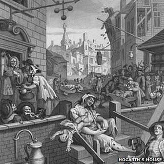 A Hogarth cartoon