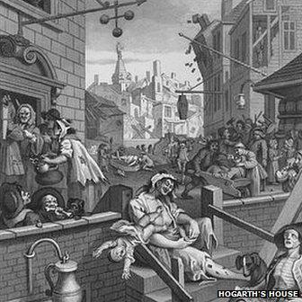 A Hogarth cartoon