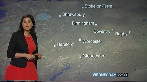 Shefali Oza reads the forecast