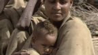 Mother and child during Ethiopian famine