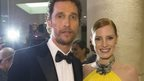 Matthew McCaonaughey and Jessica Chastain