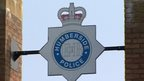 Humberside Police badge on building
