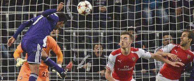 Anderlecht 1-0 Arsenal
