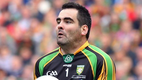 Donegal keeper Paul Durcan