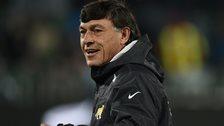 Argentina coach Daniel Hourcade