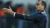 Roberto Martinez gestures from the touchline