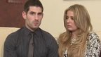 Ched Evans and his girlfriend Tasha