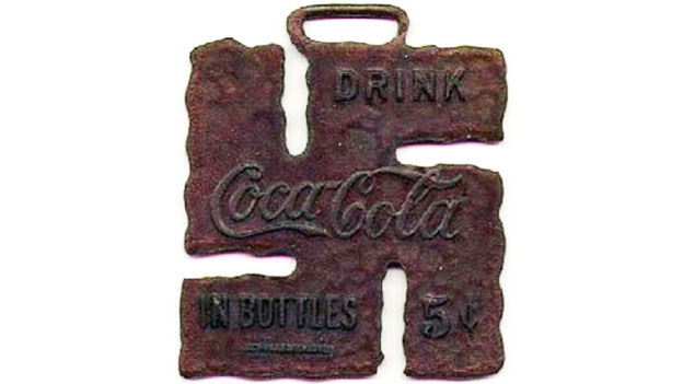 Coca Cola pendant issued for teenagers