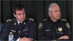 Assistant Commissioner Gilles Michaud and Ottawa police chief Charles Bordeleau
