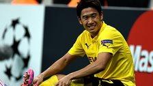 Borussia Dortmund's former Manchester United midfielder Shinji Kagawa