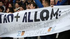 Hull City fans protest