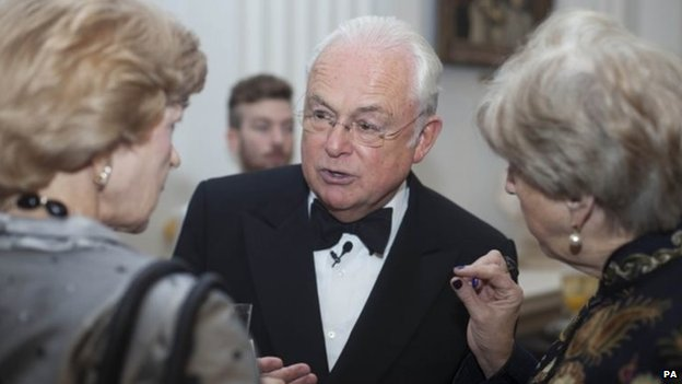 Fiona Woolf, Martin Lewis and Lady Brittan