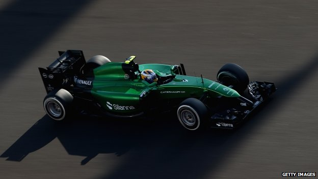 Caterham F1 car