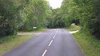 The B4547 near Felinheli
