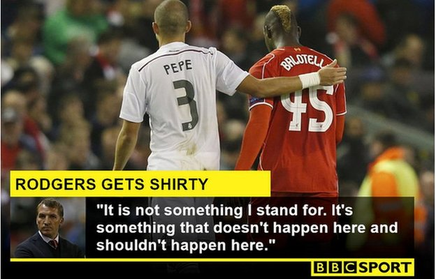Rodgers gets shirty