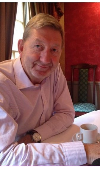 Len McCluskey at the Gay Hussar
