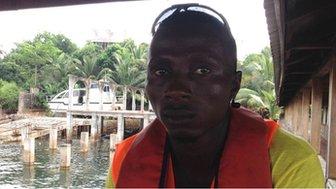 Mohammad Barrie, Sierra Leone 22/10/2014