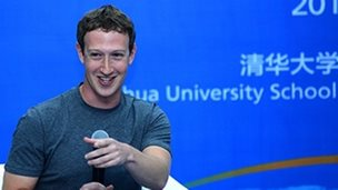 Mark Zuckerberg at Tsinghua University