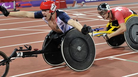David Weir and rival Marcel Hug