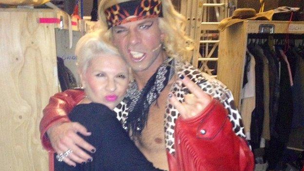 Kat Orman with Ben Richards