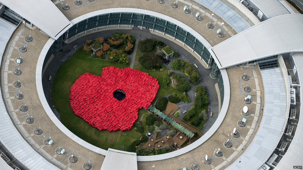 GCHQ and Gloucestershire Royal British Legion Poppy Appeal 2014