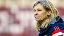 Scotland women's coach Anna Signeul