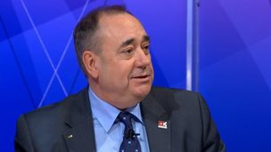 alex salmond on question time