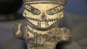 Peruvian artifact returned by the US 21 Oct 2014