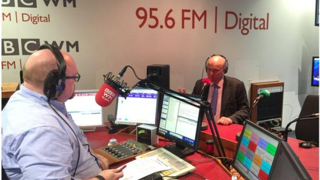 Pete Morgan interviewing Justice Secretary Chris Grayling