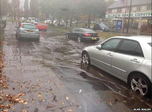 Flooding in Kingstanding