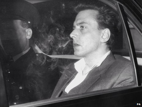 Ian Brady in a police are in 1966