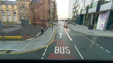 bus lanes
