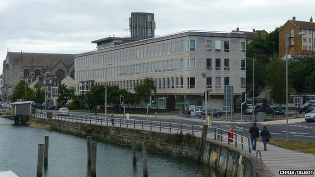 Weymouth council offices