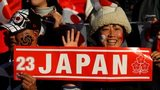 Japan fans at the 2011 Rugby World Cup