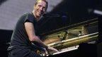 Chris Martin, Coldplay, at 2014 One Big Weekend