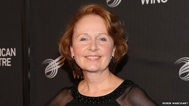 Actress Kate Burton