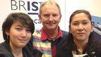 Rhian, 14, Kevin and Mae Draper
