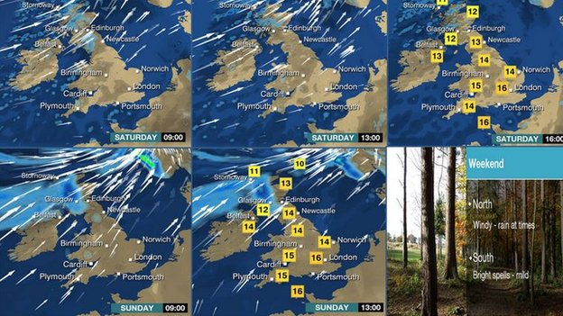 Weekend weather round-up
