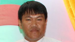 Killed Burmese journalist Aung Naing