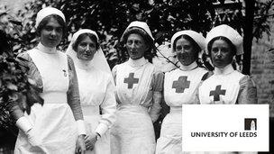 WW1 nurses