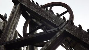 Winding gear at Minera Lead Mines