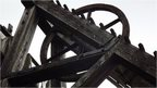 Winding gear at Minera Lead Mines
